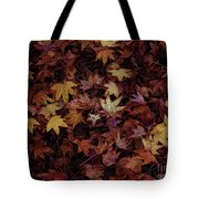 Foil Leaves Tote Bag