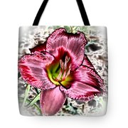 Foiled Beauty - Daylily Tote Bag