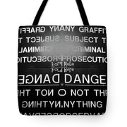 Fold Here Tote Bag