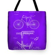 Folding Bycycle Patent Drawing 1e Tote Bag