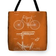 Folding Bycycle Patent Drawing 1g Tote Bag