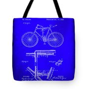 Folding Bycycle Patent Drawing 1h Tote Bag