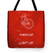 Folding Bycycle Patent Drawing 2b Tote Bag