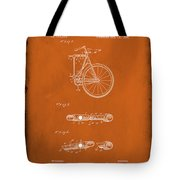 Folding Bycycle Patent Drawing 2e Tote Bag