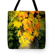 Foliage Fall Tote Bag