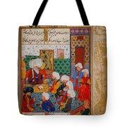 Folio From A Divan Of Mahmud Tote Bag