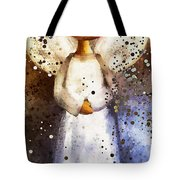 Folk Art Angel Tote Bag