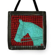 Tattooed Horse Beer Caps Tote Bag