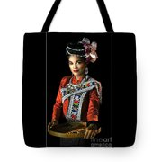 Folk Dancer Of The North East Tote Bag