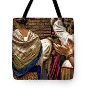 Folk Dancers Tote Bag