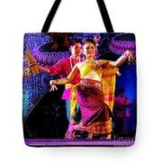 Folk Dancing Of Isaan Tote Bag