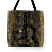 Folk Guitar Tote Bag