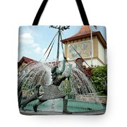 Follow Me Around The May Pole Tote Bag