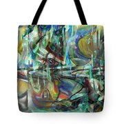 Follow Me Down To The Valley Below Tote Bag