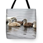 Follow Mom Tote Bag
