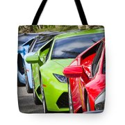 Follow That Lamborghini Tote Bag