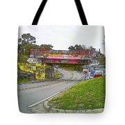 Follow The Art Road Tote Bag