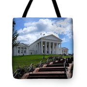Follow The Steps Tote Bag