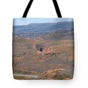 Follow The Tracks Tote Bag