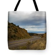 Follow The Winding Road Tote Bag