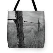 Follow The Wire Tote Bag