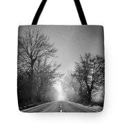 Follow Your Dreams    Monochrome Tote Bag