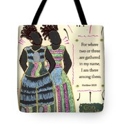 Following In Your Footsteps Tote Bag
