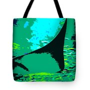 Following The Great Ray Tote Bag