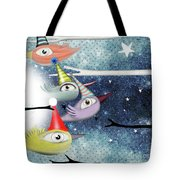 Following The Stars Tote Bag