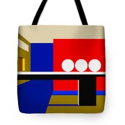 Following Through Tote Bag