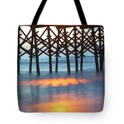 Folly Beach Abstract Tote Bag
