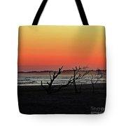 Folly Beach Sunset Tote Bag