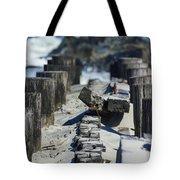 Folly Sea Wall Tote Bag