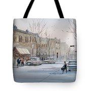 Fond du Lac - Downtown Tote Bag by Ryan Radke