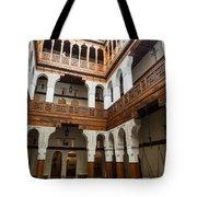 Fondouk El-nejjarine Built Tote Bag