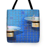 Fontaine Bleue Tote Bag