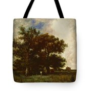 Fontainebleau Oaks 1840 Tote Bag