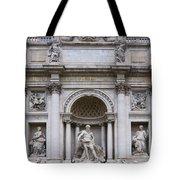 Fontana De Trevi Tote Bag