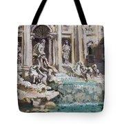 Fontana Di Trevi Rome Tote Bag
