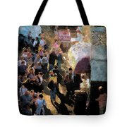 Food Alley At The Country Fair Tote Bag
