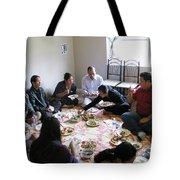 Food And Fellowship Tote Bag