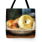 Food - Bagels For Sale Tote Bag