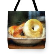 Food - Bagels For Sale Tote Bag