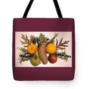 Food Bouquet Tote Bag