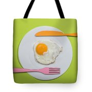 Food Concept With Paper Tote Bag