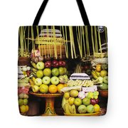 Food In Bali Tote Bag