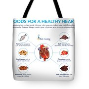 Foods For A Healthy Heart Tote Bag