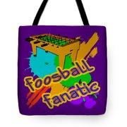 Foosball Fanatic Tote Bag
