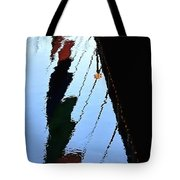 Foot Bridge Reflections 487 Tote Bag