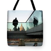 Foot Bridge To T, Paul's Tote Bag